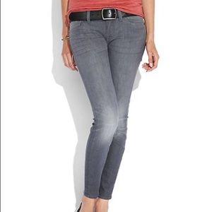 Lucky Brand Gray Charlie Skinny Jean Size 6A